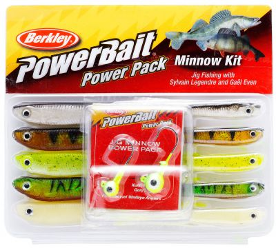 Berkley Confezione Minnow Powerbait Pro Pack