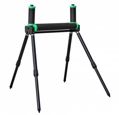 Sensas Black Compact Double 4 Leg Roller