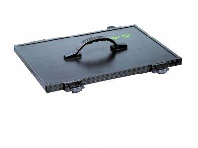Sensas Black Fabric Box Cover