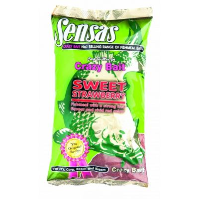 Sensas Crazy Bait Sweet Strawberry