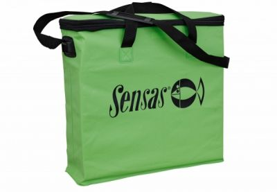 Sensas Waterproof Green Rect. Net Bag