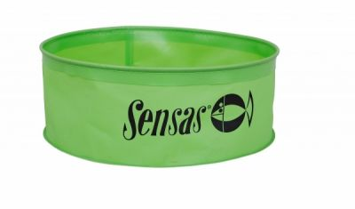 Sensas Waterproof Round Green Bowl
