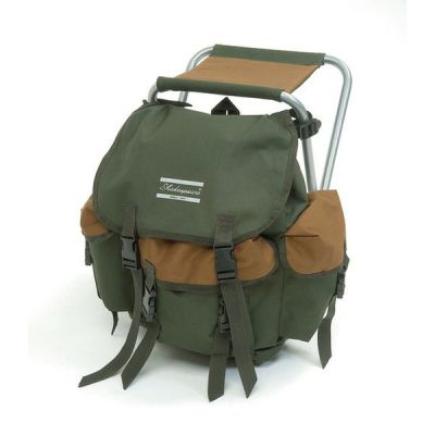 Shakespeare Stool With Back Pack