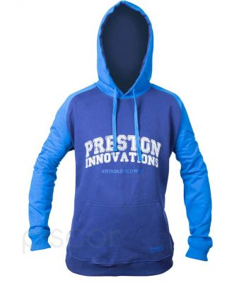 Preston Felpa con Cappuccio Two Tone Blue