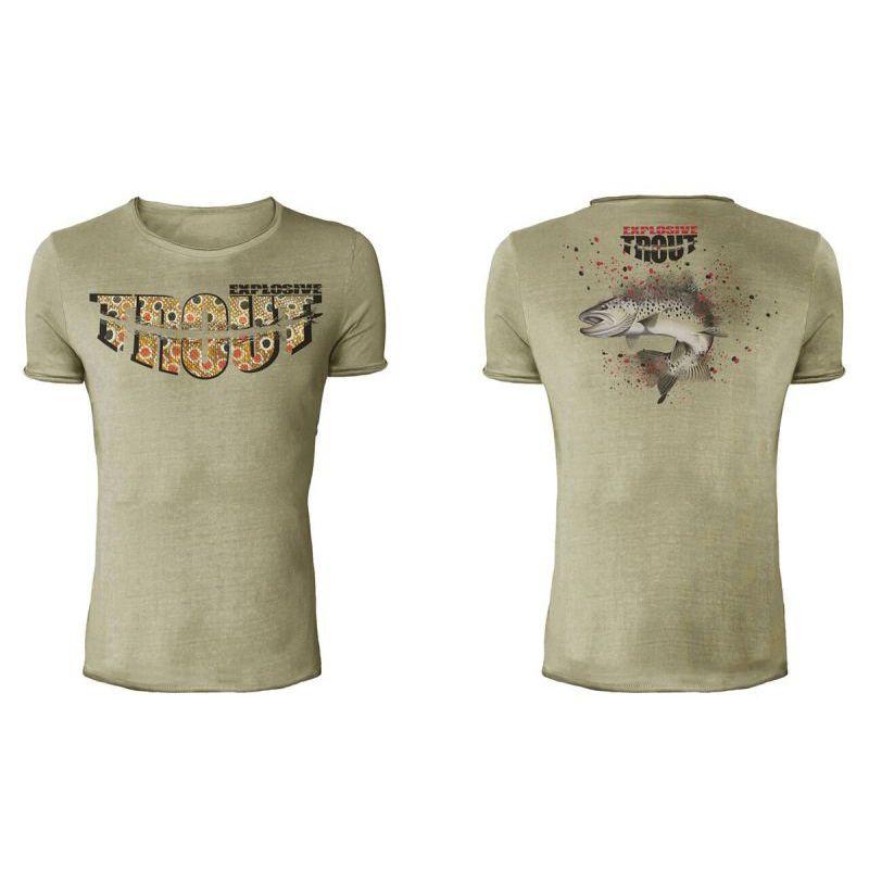XXL T-shirt EXPLOSIVE TROUT Hot Spot