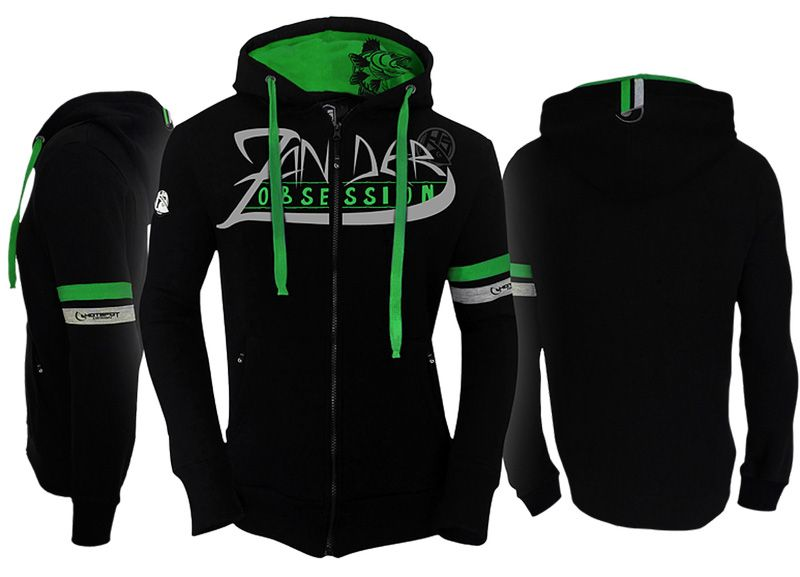 Hotspot Design Sweat ZANDER Obsession Kapuzenpullover Hoody Zipp-Sweater